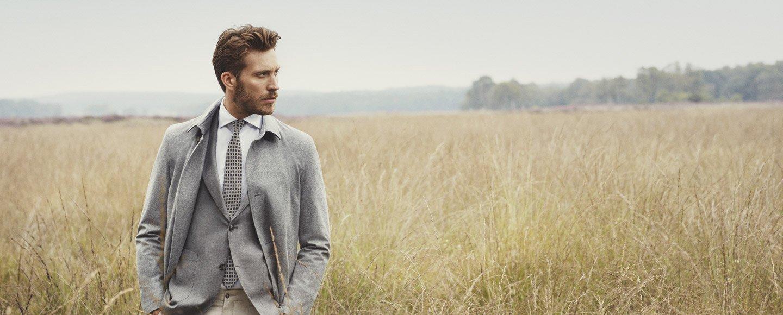 Man wearing eurostyle clothing